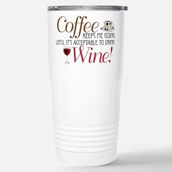 Coffee Wine Travel Mug