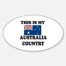 This Is My Australia Country Decal