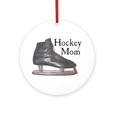 Hockey Mom Vintage Ornament (Round)