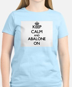 Keep calm and Abalone ON T-Shirt