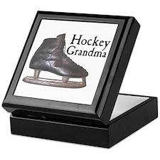 Hockey Grandma Vintage Keepsake Box