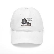 Hockey Grandma Vintage Baseball Cap