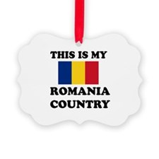 This Is My Romania Country Ornament