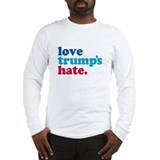 Love trumps hate Long Sleeve T-shirts