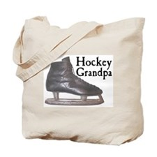 Hockey Grandpa Vintage Tote Bag