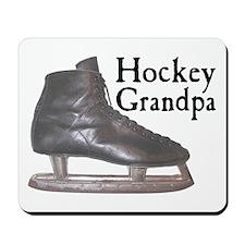 Hockey Grandpa Vintage Mousepad