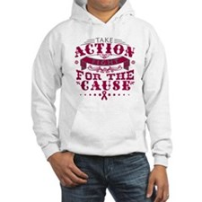 Multiple Myeloma Action Hoodie