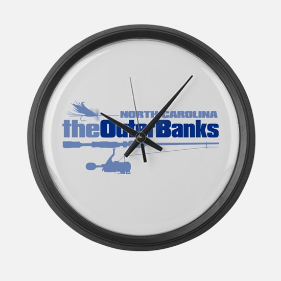 Outer Banks Large Wall Clock