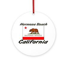Hermosa Beach California Ornament (Round)