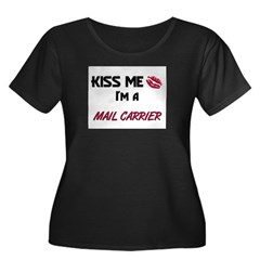 Kiss Me I'm a MAIL CARRIER T