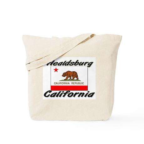 Healdsburg California Tote Bag