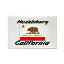 Healdsburg California Rectangle Magnet