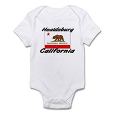 Healdsburg California Infant Bodysuit