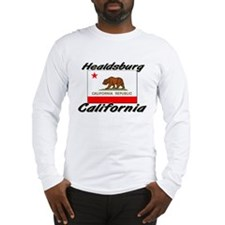 Healdsburg California Long Sleeve T-Shirt