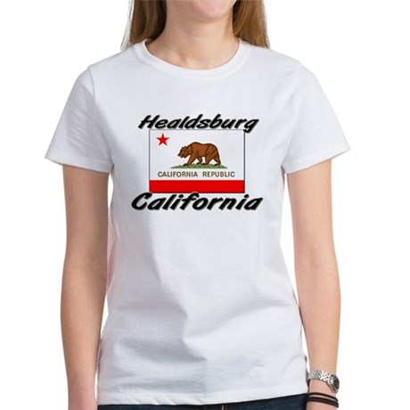 Healdsburg California Women's T-Shirt