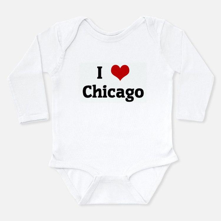 I Love Chicago Body Suit