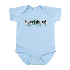Harrisburg PA grunge Infant Bodysuit