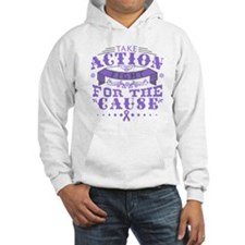 Hodgkins Lymphoma Action Hoodie