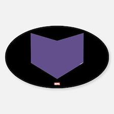 Hawkeye Chest Emblem Sticker (Oval)