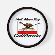 Half Moon Bay California Wall Clock