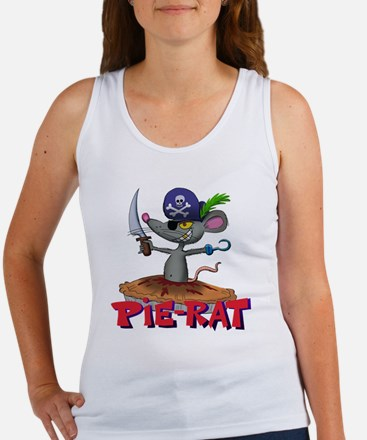 Unique Pirate girl Women's Tank Top