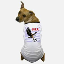 USA Soccer Eagle Dog T-Shirt