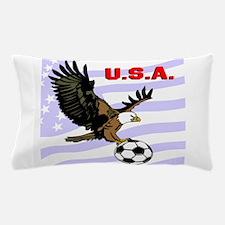 USA Soccer Eagle Pillow Case