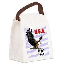 USA Soccer Eagle Canvas Lunch Bag