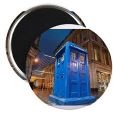 glasgow police box Magnets