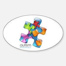puzzle-v2-5colors Bumper Stickers