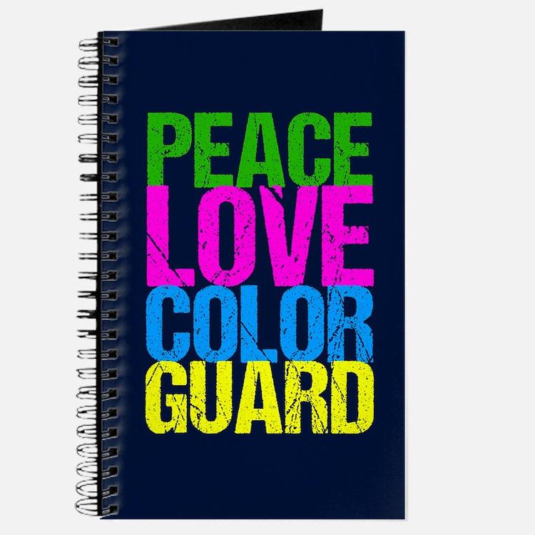 Color Guard Cute Journal