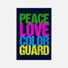 Color Guard Cute Rectangle Magnet