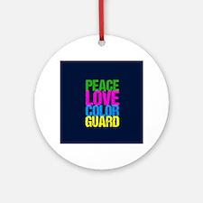 Color Guard Cute Round Ornament
