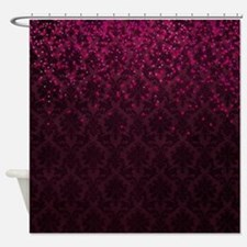Burgundy Shower Curtains