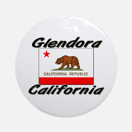 Glendora California Ornament (Round)