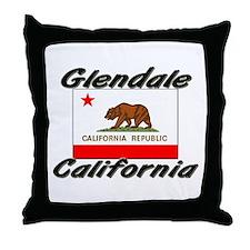 Glendale California Throw Pillow