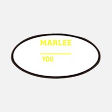 MARLEE thing, you wouldn't understand! Patch