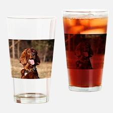 irish setter Drinking Glass