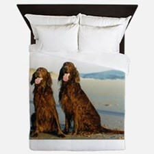 irish setter Queen Duvet