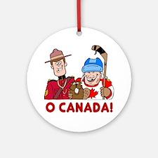 O Canada Ornament (Round)