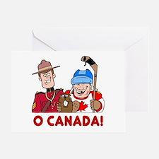 O Canada Greeting Card