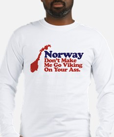 2-Norway Long Sleeve T-Shirt