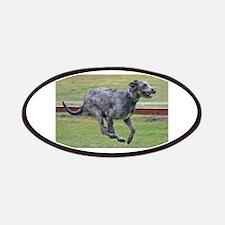 irish wolfhound in motion Patch