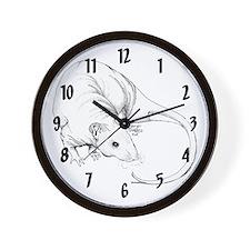 Hairless Rat Wall Clock