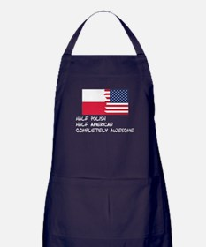Half Polish Completely Awesome Apron (dark)