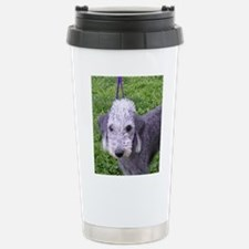 bedlington terrier grey Travel Mug