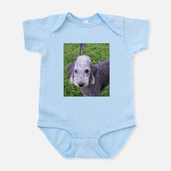 bedlington terrier grey Body Suit