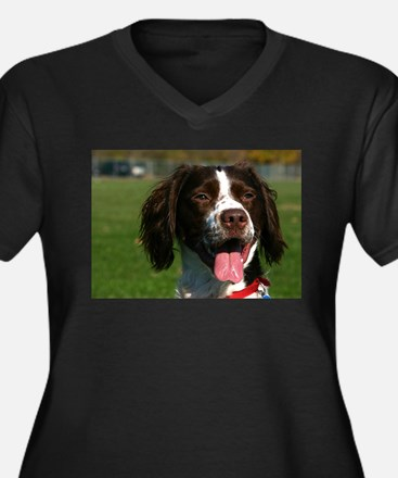 brittany spaniel Plus Size T-Shirt