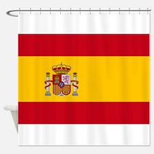 Spanish Flag Shower Curtain