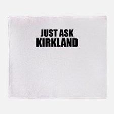 Just ask KIRKLAND Throw Blanket